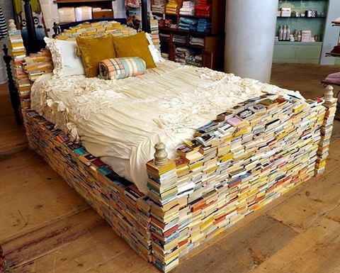 Jeitinho pra fazer os livros ainda caberem em casa